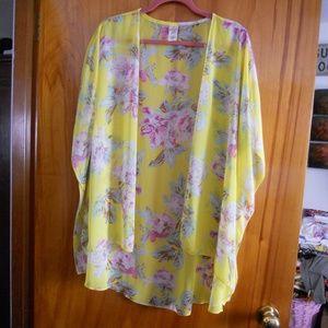 I Joah Komono Yellow Floral M
